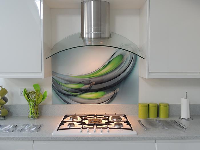 Bespoke Printed Glass Splashback