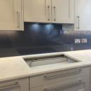 darker coloured glass splashbacks elephants trunk colour kitchen