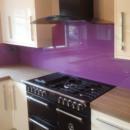 darker coloured glass splashbacks velvet colour kitchen
