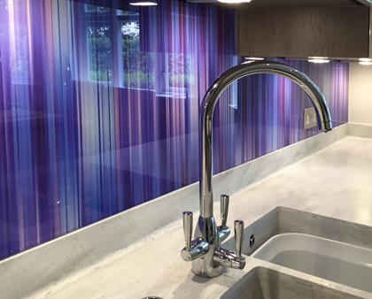 Room decor ideas: Adding visual depth to a minimalist kitchen