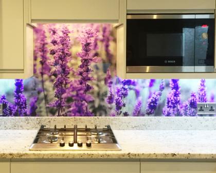How to create glass splashbacks with photos