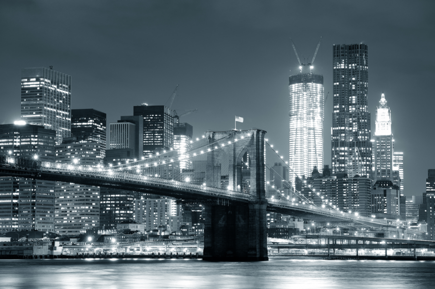 Black And White New York City