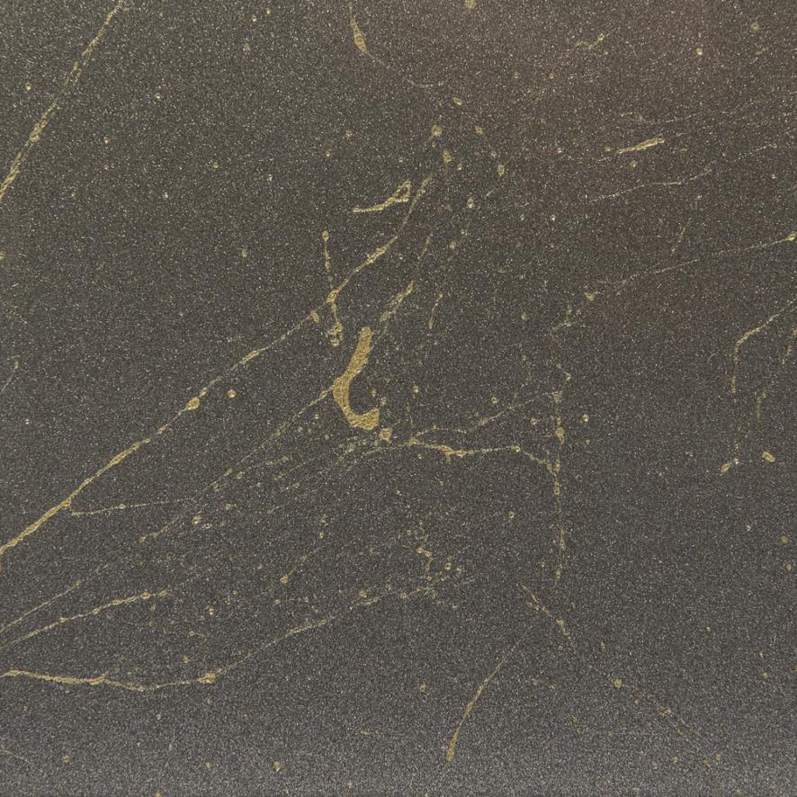 CW8 Grey Metallic Glass with Gold Thread