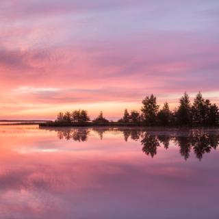 Island At Dawn