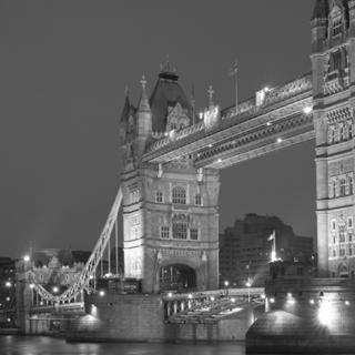 Tower Bridge Black White