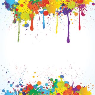 Textured Splattered Paint