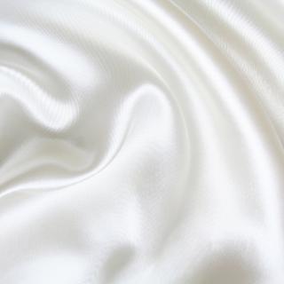 Textured White Silk